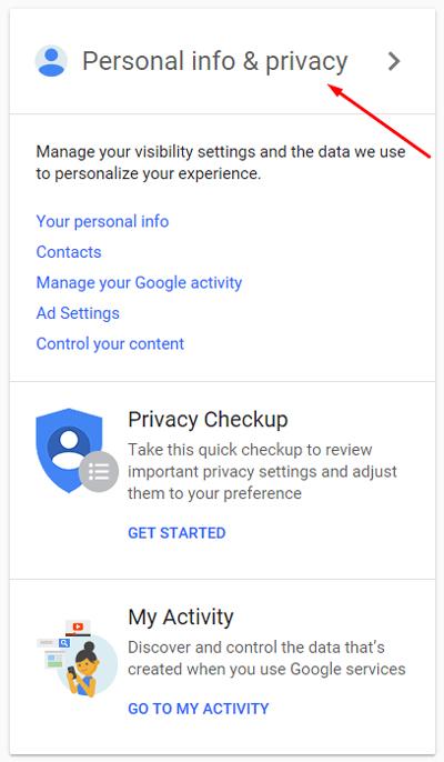 حذف اتوماتیک اکانت گوگل بعد از مرگ شخص, حذف اتوماتیک اکانت گوگل