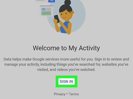 بررسی تاریخچه حساب گوگل در Android, تاریخچه کروم روی دسک تاپ