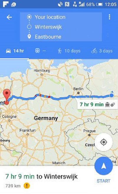 نقشه گوگل مپ, ثبت مکان در گوگل مپ