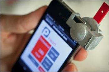 تلفن هوشمند,اندازه گیری کلسترول با گوشی هوشمند
