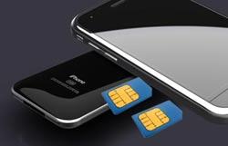 گوشی دو سیم کارته اپل,گوشی IPhone 5 اپل,قاب دو سیمکارته شدن گوشی آیفون