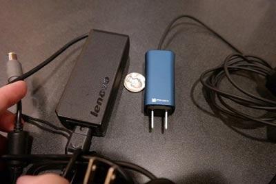شارژر لپ تاپ,کوچکترین شارژر لپ تاپ
