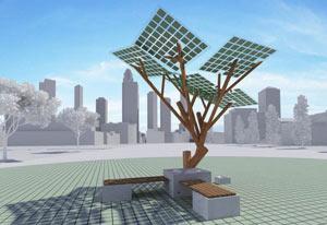 درخت eTree,کاربرد درخت eTree,درختی با قابلیت ارائه شارژ تلفن