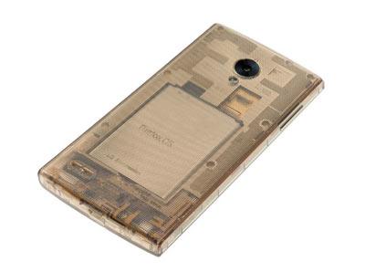گوشی هوشمند FX0 الجی با قاب شفاف