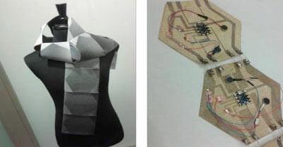 روسری,روسری SWARM,روسری هوشمند