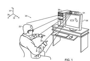 طرح جدید اپل برای کنترل حرکتی تلویزیون و رایانه