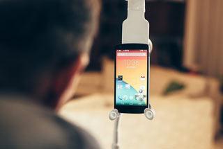 گوشی هوشمند هندزفری,گوشی Sesame,گوشی هوشمند مخصوص معلولان