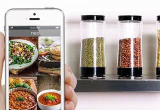 ظرف هوشمندی که خودکار سفارش غذا میدهد