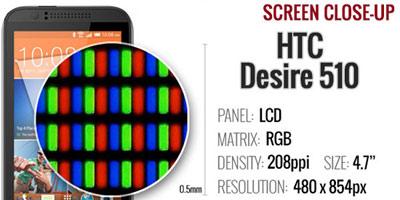 گوشی اچتیسی دیزایر 510,مشخصات گوشی HTC Desire 510,گوشیهای هوشمند اچتیسی