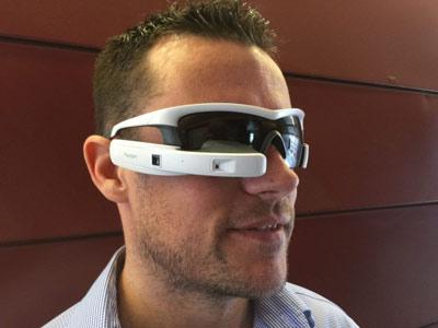 عینک مخصوص ورزشکاران, عینک هوشمند Recon Jet, ویژگیهای عینک هوشمند