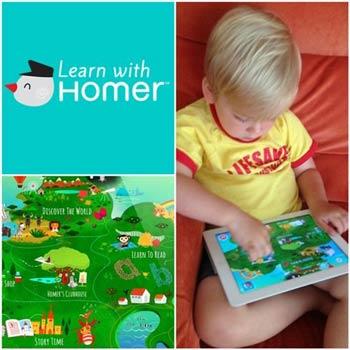 برنامه Learn with Homer,نرم افزارهاي مخصوص كودكان,اخبار تكنولوژي