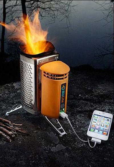 شارژ تلفن همراه,شارژ تلفن همراه با اجاق گاز,ابداعات جديد