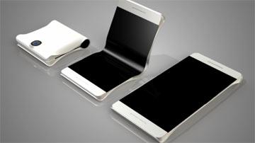 گوشی هوشمند,گوشی هوشمند تاشو,گوشی تاشوی سامسونگ