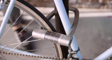 قفل کردن دوچرخه,دستگاه Skylock,قفل کردن دوچرخه به کمک تلفن همراه