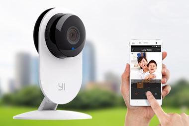 دوربین,دوربین نظارتی Yi,ویژگیهای دوربین Yi شیائومی