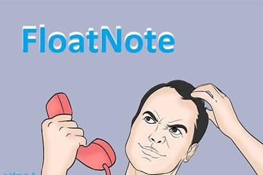 فناوریهای نوین, یادداشت برداری,اپلیکیشن FloatNote, اختراعات جدید, برنامه FloatNote, یادداشت برداری در حین صحبت کردن, ابداعات جدید, کاربردهای اپلیکیشن FloatNote