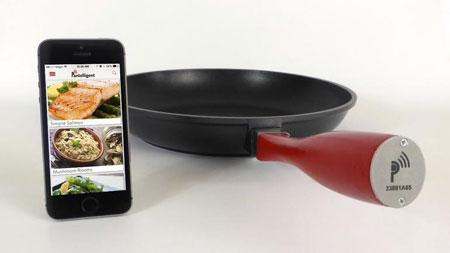 اختراعات جدید, ماهی تابه هوشمند Pantelligent,تابه هوشمند