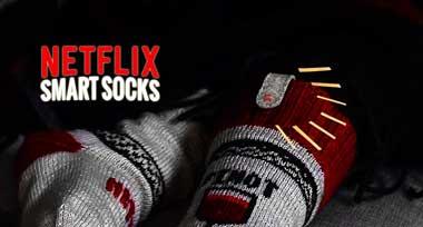 جوراب هوشمند,Netflix,جوراب هوشمند نتفلیکس