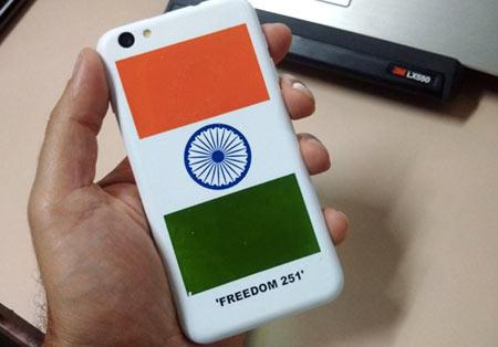 گوشی هوشمند Freedom 251,گوشی Freedom 251,گوشی 4 دلاری