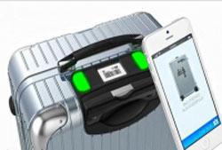 چمدان Bag2Go,ویژگیهای چمدان Bag2Go,ردیابی چمدان با تلفن همراه