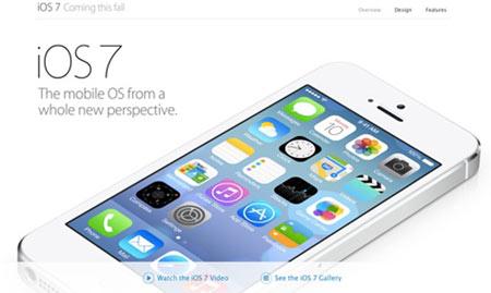 گوشی iOS 7 اپل,انواع گوشی اپل