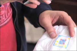 پوشک بچه,پوشک دیجیتالی,تشخیص عفونت مجاری ادراری از روی پوشک بچه
