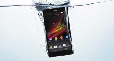 گوشی های ضد آب,گوشی هوشمند Xperia ZR سونی,گوشی هوشمندGalaxy SIV Active سامسونگ