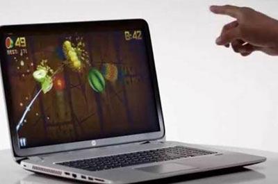 لپ تاپ مدل Envy,کنترل لپ تاپ با حرکت دست