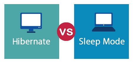 خارج کردن لپ تاپ از حالت sleep, روشن شدن کامپیوتر در حالت sleep, حالت sleep و hibernate