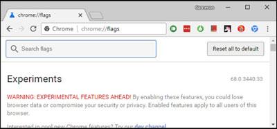 صفحات مخفی گوگل کروم, مرورگر گوگل کروم