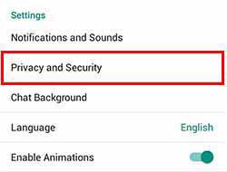 آموزش مخفی کردن شماره در تلگرام, عدم نمایش شماره تلفن در تلگرام