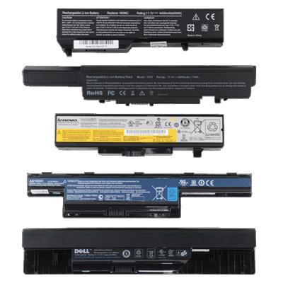 انواع باتری لپ تاپ, تعویض باتری لپ تاپ