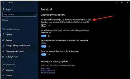 LOCATION, همگامسازی تنظیمات ویندوز 10