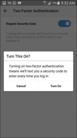 چگونگی هک اینستاگرام, جلوگیری از هک شدن