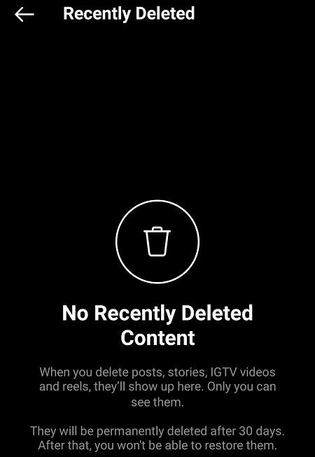 بازگردانی استوریهای حذف شده در اینستاگرام, برگرداندن استوری حذف شده اینستاگرام, بازگردانی پست ها و استوری های حذف شده در اینستاگرام