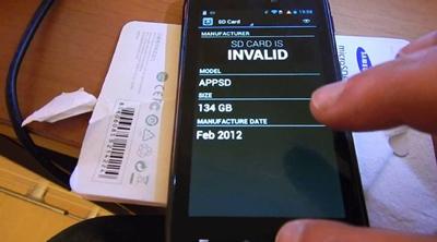 ترفندهای موبایل, کارت حافظه در گوشی اندرویدی