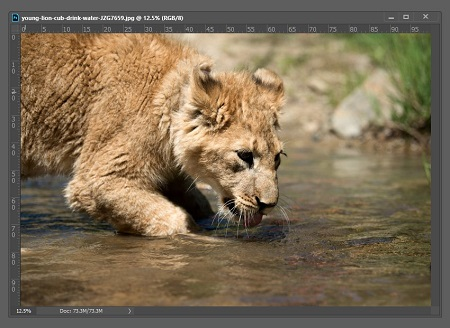 ایجاد تصویر آینه ای در فتوشاپ, آینه کردن تصویر در فتوشاپ, نحوه ایجاد انعکاس تصاویر در فتوشاپ