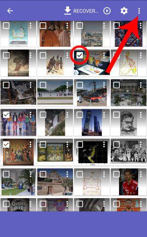 حذف کامل عکسها از گوشی, دسترسی به عکسهای پاک شده در تلفنهمراه