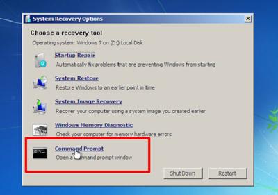 بازیابی پسورد ویندوز 7, بازیابی پسورد ویندوز  راهحلهایی برای بازیابی رمز ورود به ویندوز recover windows password1 3