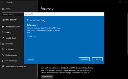 چگونه ویندوز را به تنظیمات اولیه برگردانیم