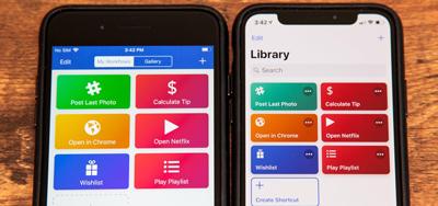 عکاسی سریع در آیفون, تبدیل ویدیو به گیف در آیفون  9 میانبر کاربردی iOS 12 که کار با آیفون را راحت تر می کنند shortcuts ios12 iphone1 3