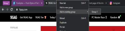 فعال کردن قابلیت Tab Grouping در گوگل کروم, نحوه فعال کردن قابلیت Tab Grouping