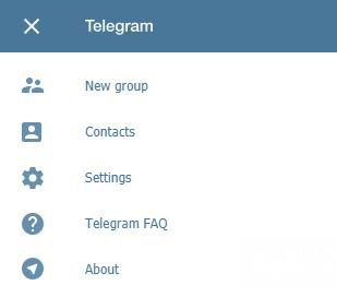 کار با تلگرام در کامپیوتر, استفاده از تلگرام تحت وب