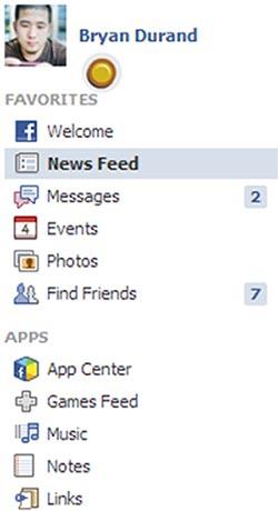 آموزش فیسبوک,آموزش تصویری فیس بوک,بررسی پروفایل