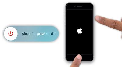 خاموش و روشن کردن دستگاه آیفون, آیفون 7
