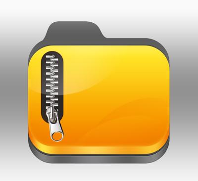خارج سازی فایل Zip از حالت فشرده, برنامه های زیپ برای گوشی آیفون