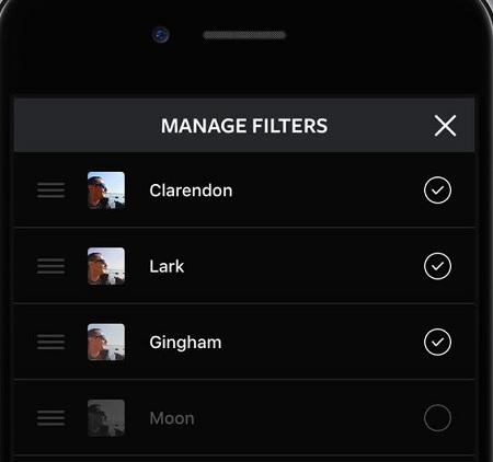 شخصی سازی فیلتر های اینستاگرام, افزودن افکت به عکس در اینستاگرام, روش استفاده از فیلتر های اینستاگرام