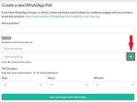 سایت ساخت نظرسنجی در واتساپ, نظرسنجی در واتساپ بدون برنامه, درست کردن نظرسنجی در واتساپ
