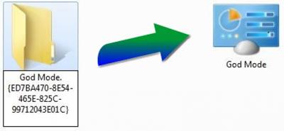 فعال کردن godmode در ویندوز 10, godmode آموزش