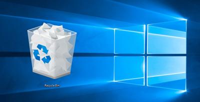 تغییر تنظیمات زبالهدان ویندوز